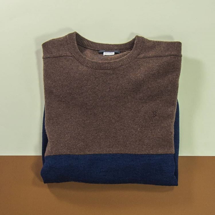 Pullover, wool from vintage pullovers, unique piece / 2017