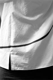 Blouse en coton peint, pièce unique / 2003