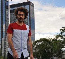 Τ-shirt en coton de chemise vintage et T-shirt vintage, pièce unique / 2019